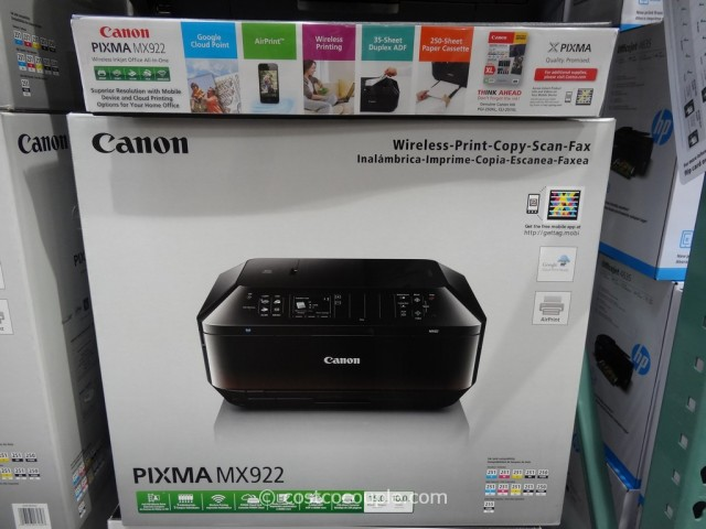 Canon Pixma Wireless All-In-One Inkjet MX922 Costco 2