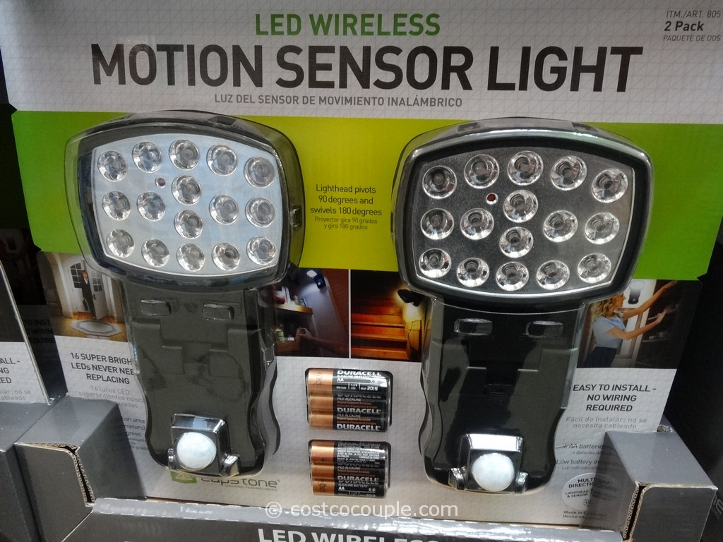 Capstone LED Motion Sensor Light Costco 2