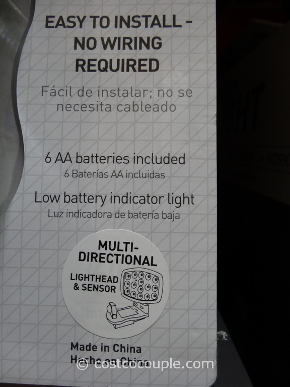 Capstone Led Motion Sensor Light