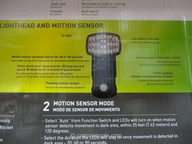 Capstone Led Motion Sensor Light