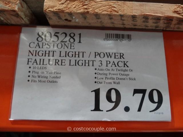 Capstone Night Light Power Failure Light Costco 1