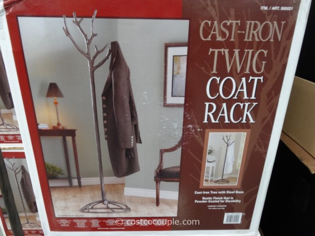 Cast Iron Twig Coat Rack Costco 2