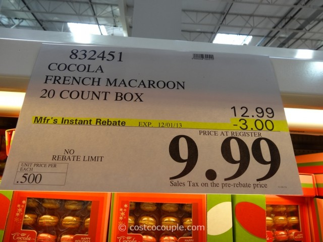Cocola Holiday French Macaroons Costco 1