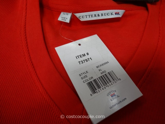 Cutter and Buck Mens Pima Cotton Pullover Costco 3