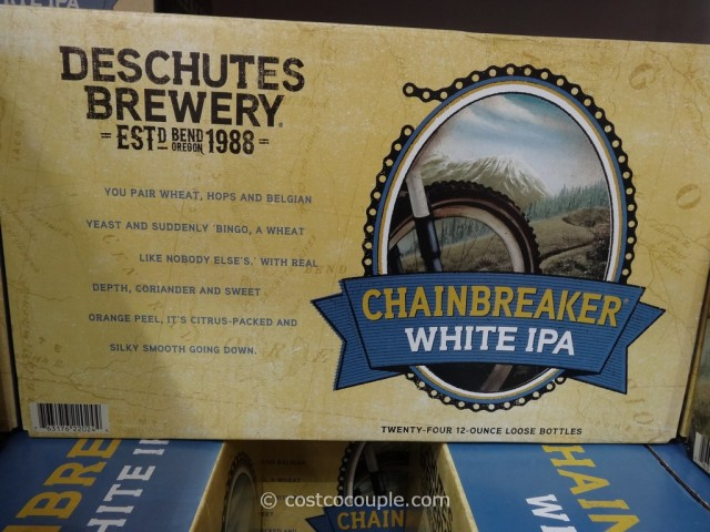 Deschutes Brewery Chainbreaker White IPA Costco 2