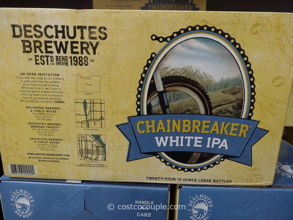 Deschutes Brewery Chainbreaker White IPA Costco 3