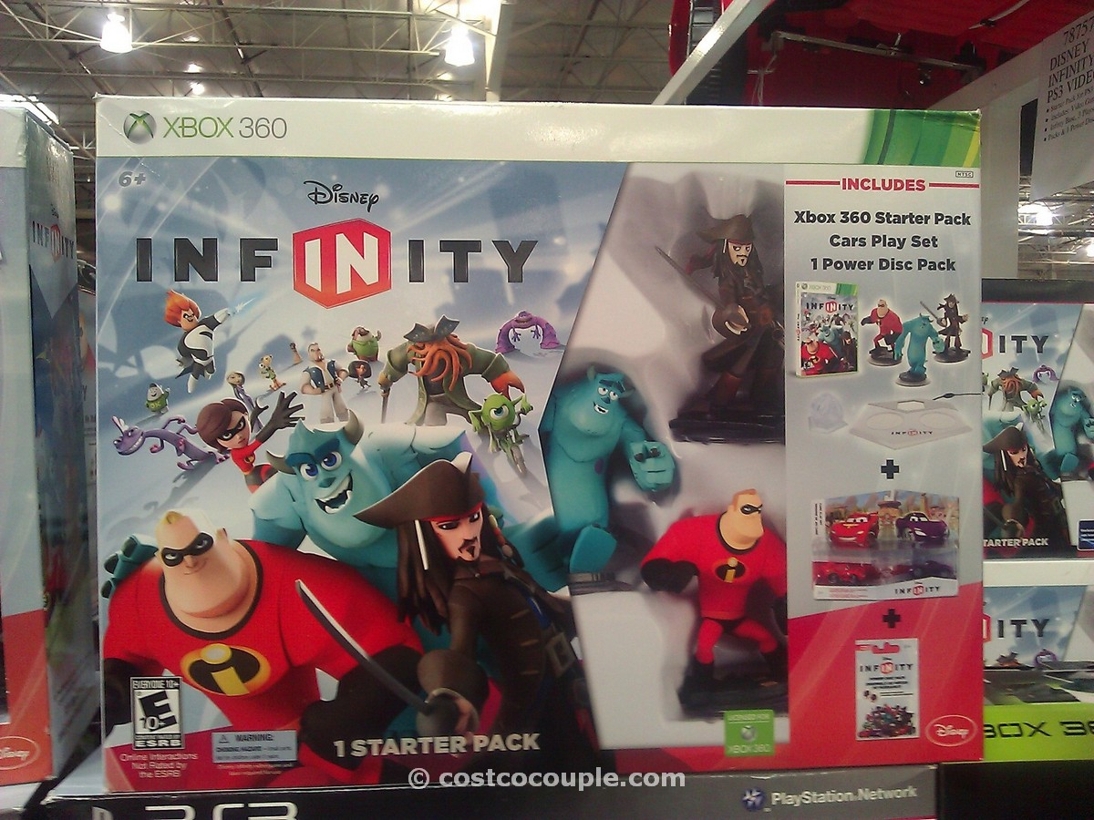 Disney Infinity Bundle Video Game Costco 1