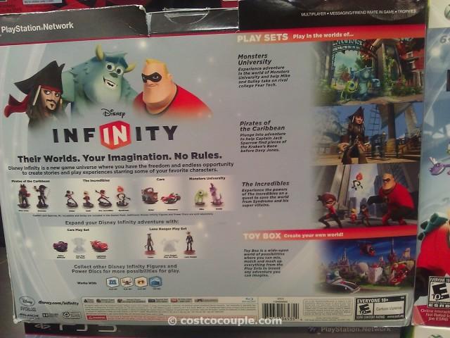 Disney Infinity Bundle Video Game Costco 2