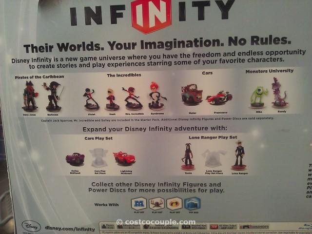 Disney Infinity Bundle Video Game Costco 3