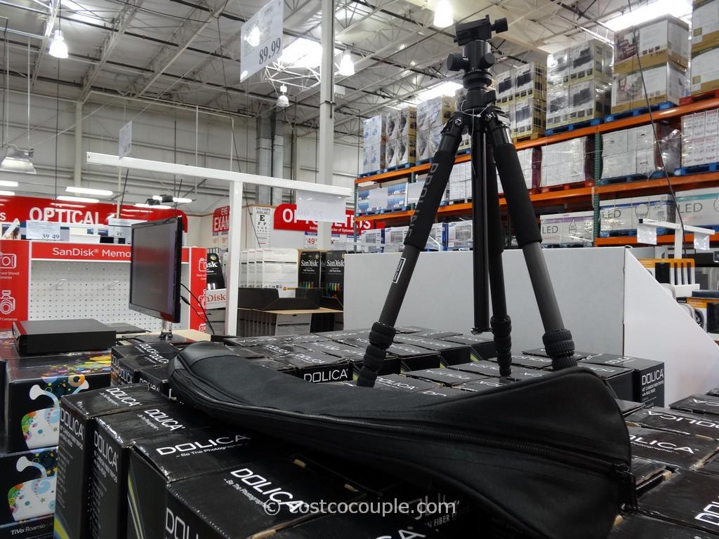 Dolica 60-Inch Carbon Fiber Tripod Costco 1