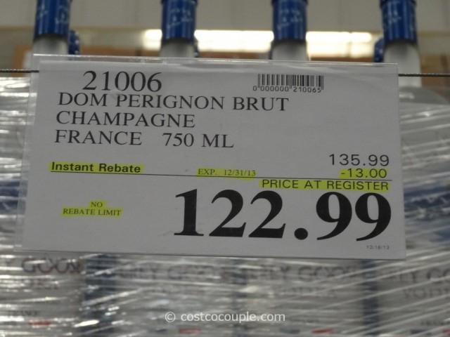 Dom Perignon Brut Champagne Costco 1