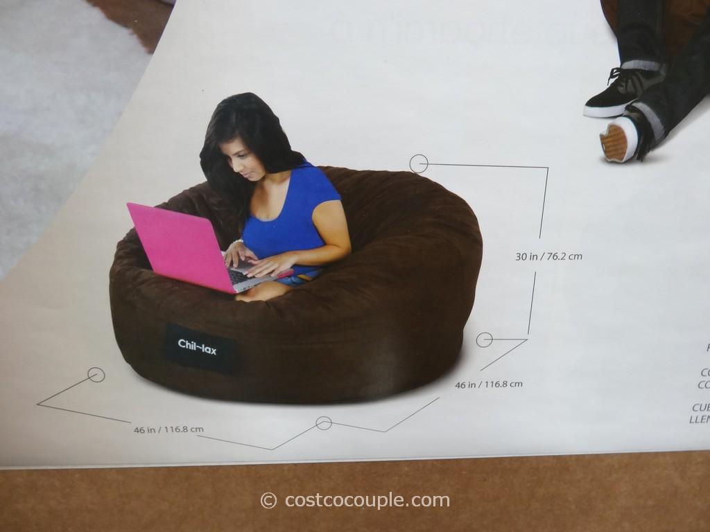 Elite Chil Lax Bean Bag Chair Costco 4