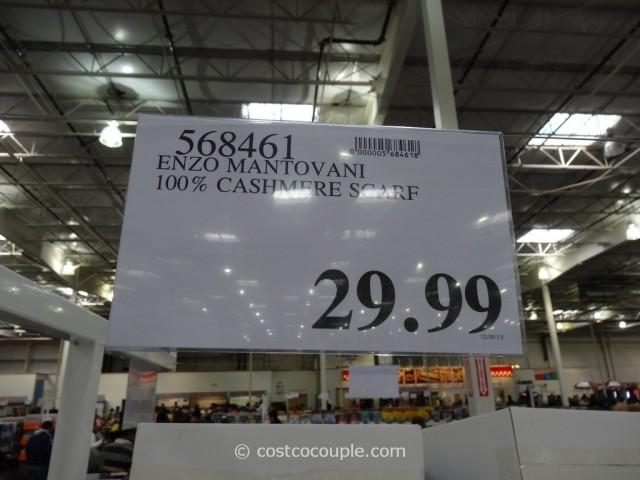 Enzo Montovani 100 Percent Cashmere Scarf Costco 2