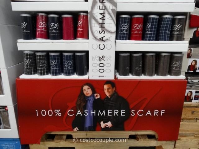 Enzo Montovani 100 Percent Cashmere Scarf Costco 5