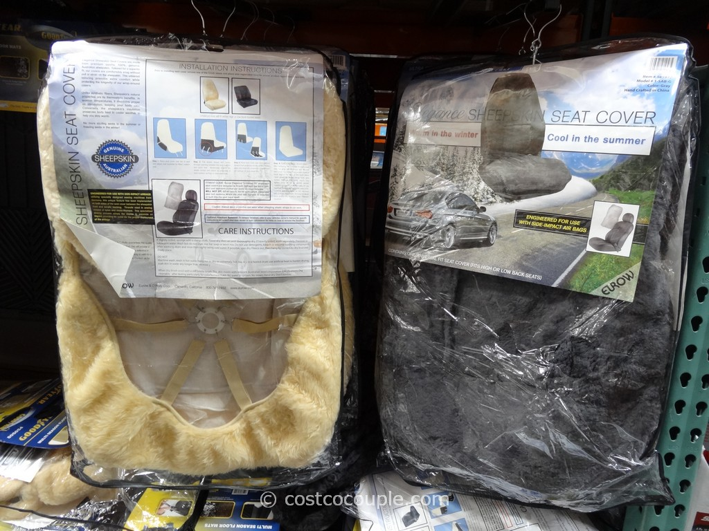 Eurow Sheepskin Seat Cover Costco 4