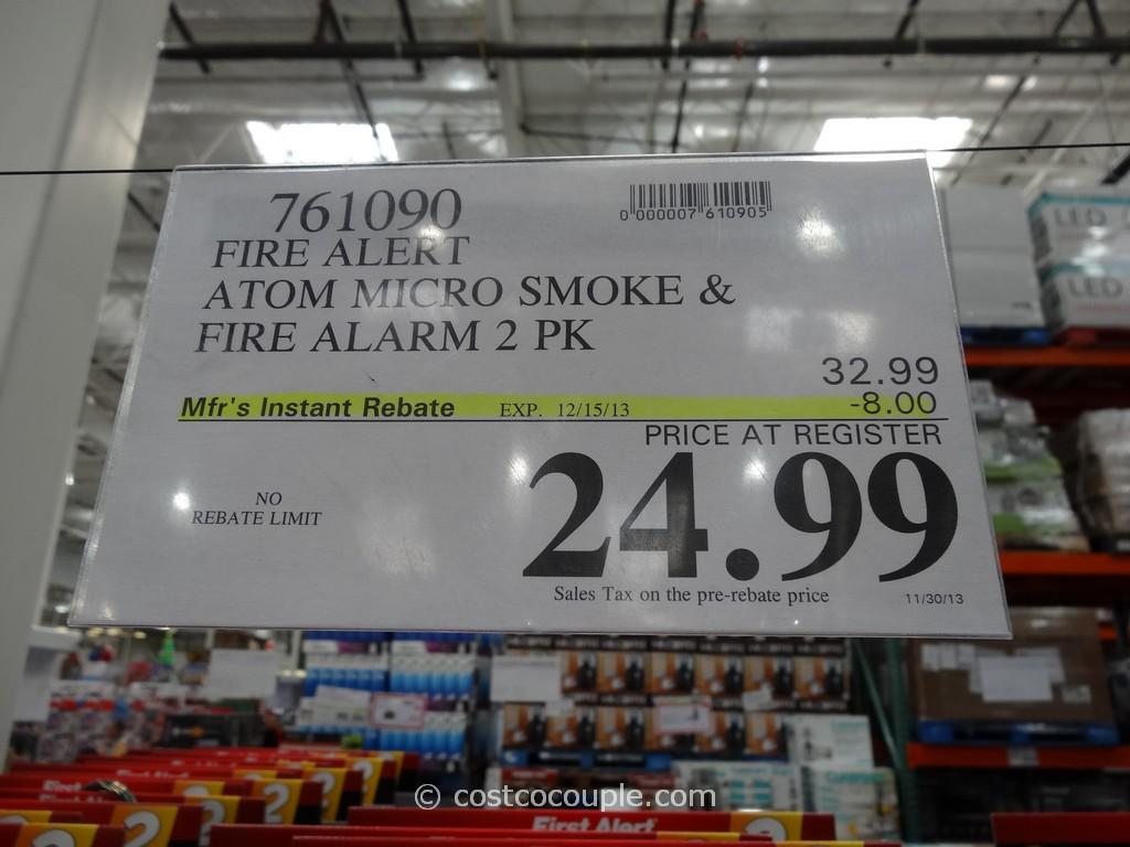 First Alert Atom Smoke And Fire Alarm