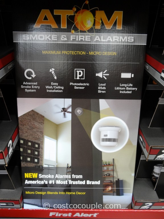 First Alert Atom Smoke and Fire Alarm Costco 4