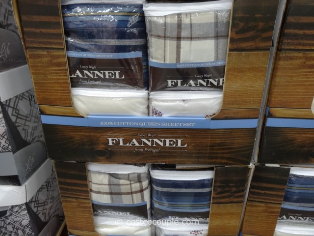 Flannel Queen Sheet Set