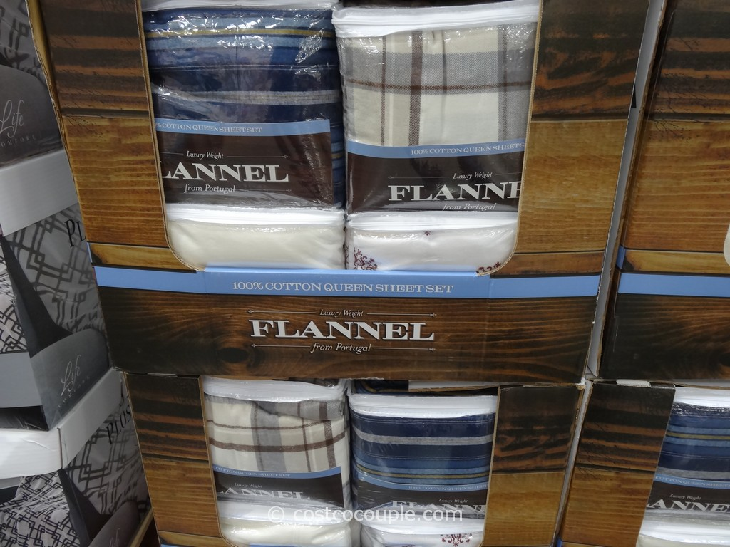 Flannel Queen Sheet Set Costco 1