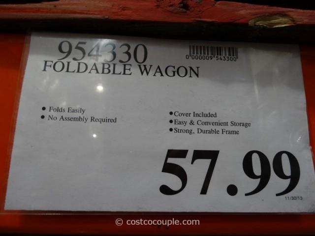 Foldable Wagon Costco 1