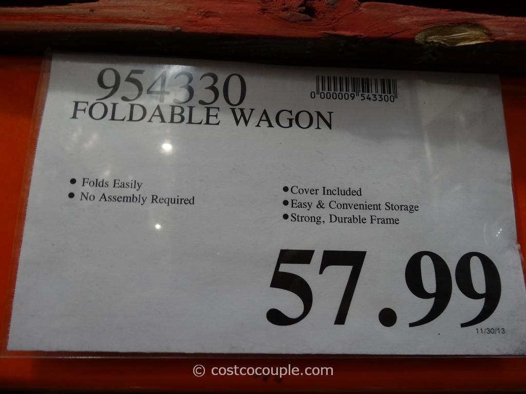 Folding Wagon Costco