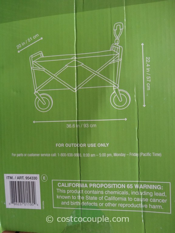 Costco Mattress Coupon Foldable Wagon Costco 3