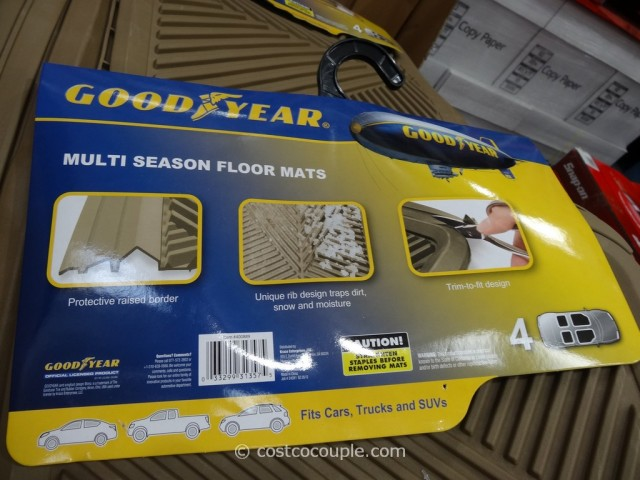Goodyear Heavy Duty Floor Mats Costco 4