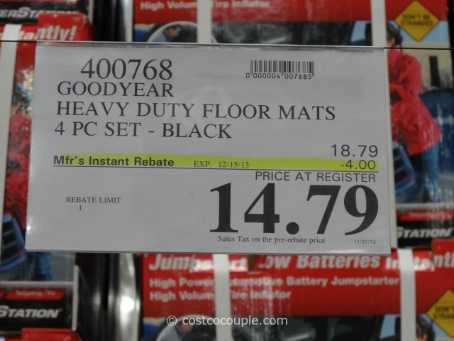 Goodyear Heavy Duty Floor Mats Costco 5