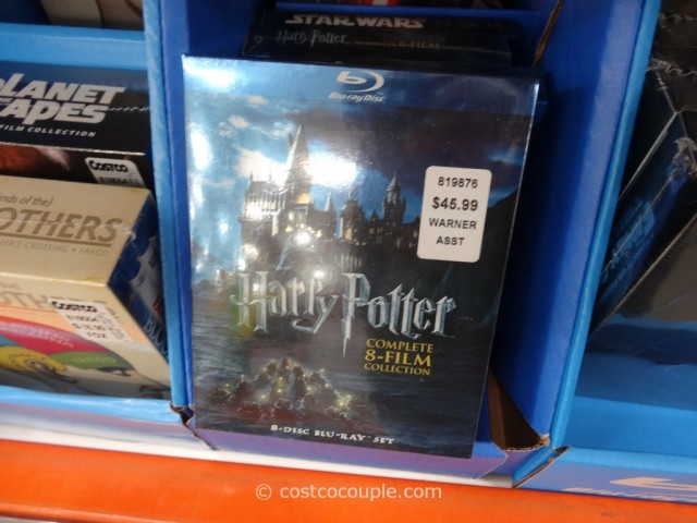 Harry Potter 8-Film Collection Costco 1