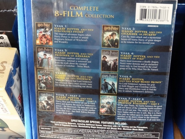 Harry Potter Book Set Costco ~ Harry potter film collection set