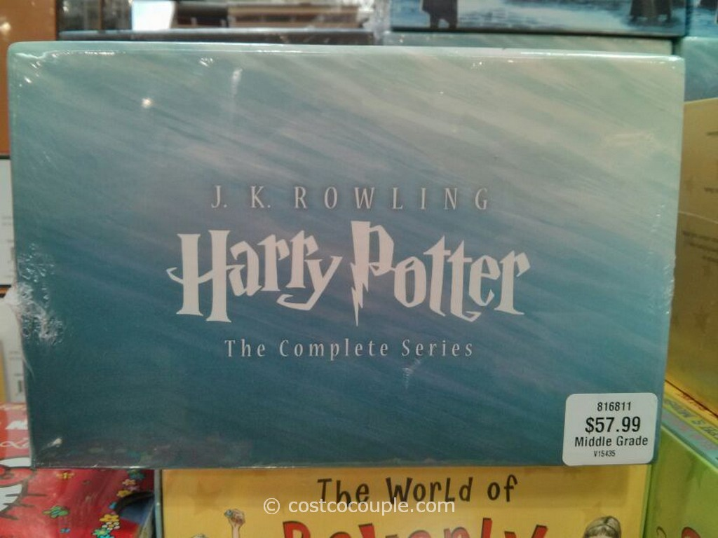 Harry Potter Book Set Costco : Harry potter the complete series book set