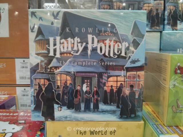 Harry Potter The Complete Series Book Set Costco 2