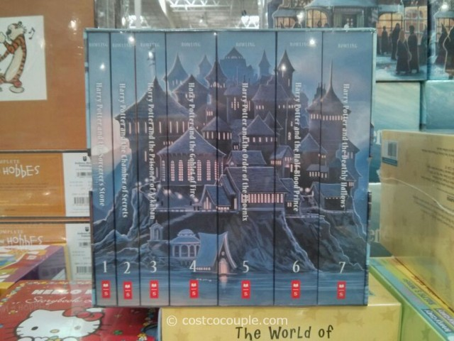 Harry Potter The Complete Series Book Set Costco 3