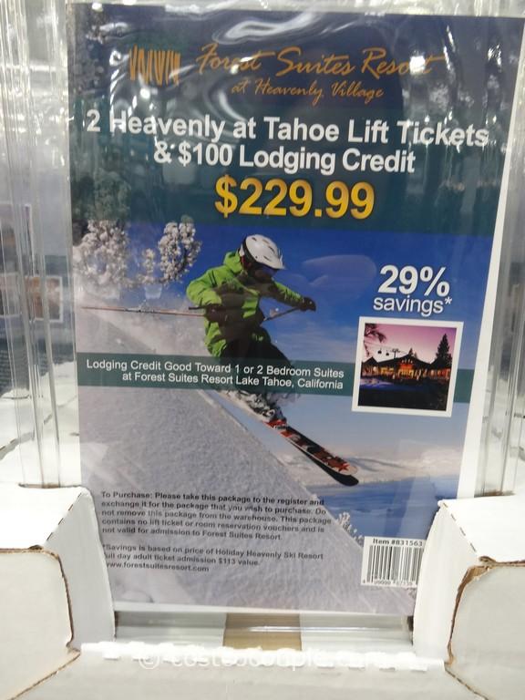 Heavenly At Tahoe Ski Package Costco 2