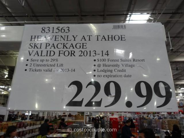 Heavenly At Tahoe Ski Package