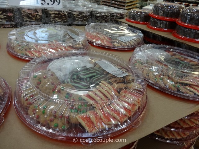 Holiday Cookie Tray Costco 1