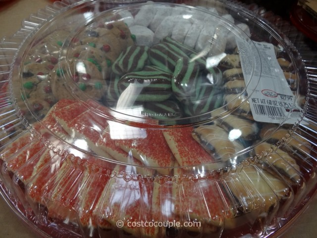 Holiday Cookie Tray Costco 2