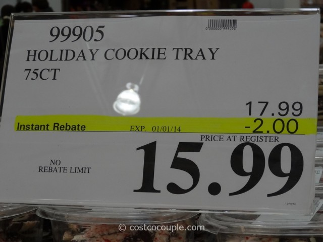 Holiday Cookie Tray Costco 3