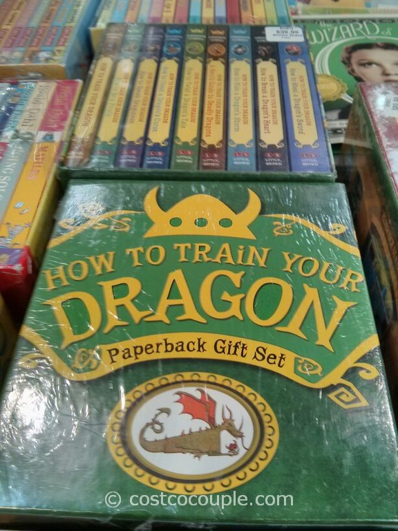 How to Train Your Dragon Paperback Gift Set Costco 1