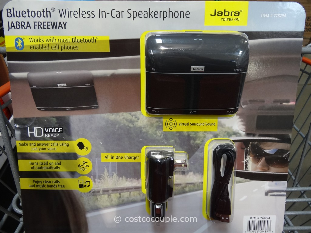 Jabra Freeway Bluetooth Car Speaker Costco 2