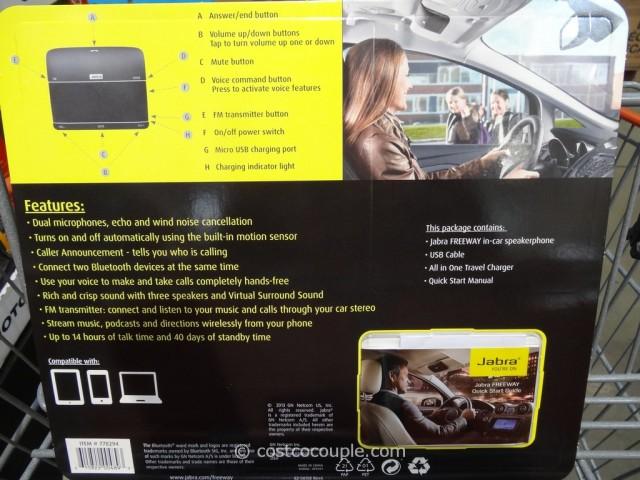 Jabra Freeway Bluetooth Car Speaker Costco 3
