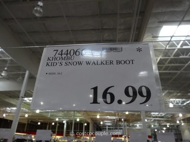 Khombu Kids Snow Walker Boots Costco 1