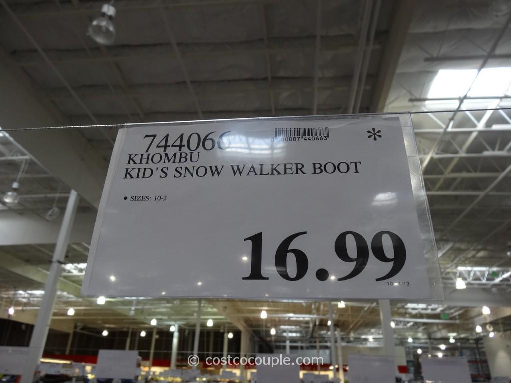 Khombu Kids Snow Walker Boots