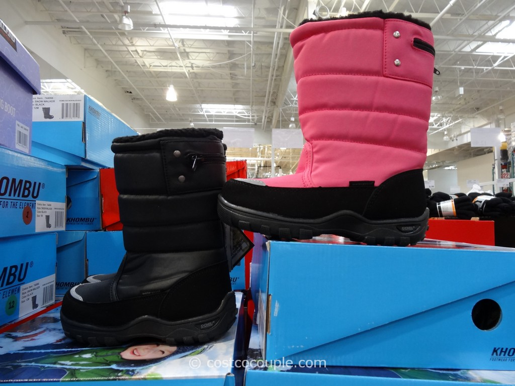 Khombu Kids Snow Walker Boots Costco 2