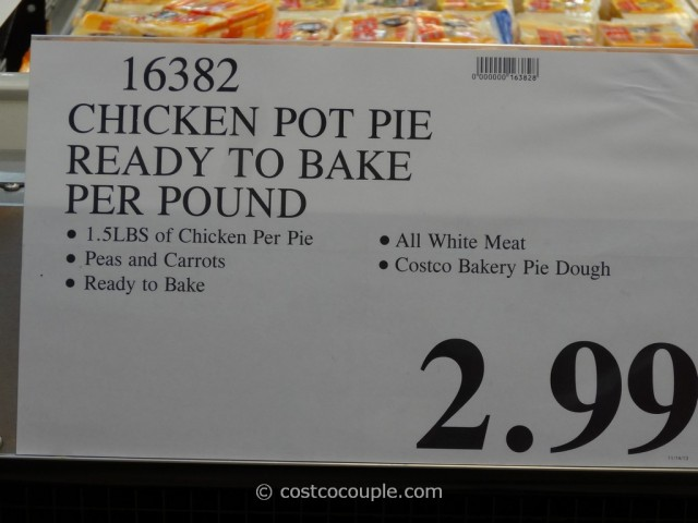 Kirkland Signature Chicken Pot Pie Costco 2
