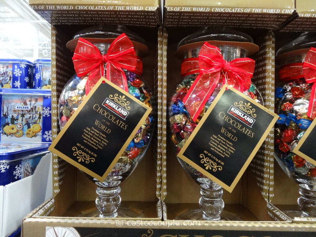 Kirkland Signature Chocolates of the World Glass Jar Costco 2