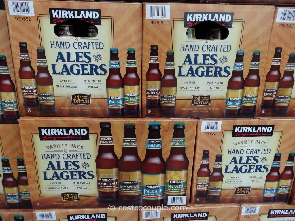 Kirkland signature handcrafted ales and lagers costco 3