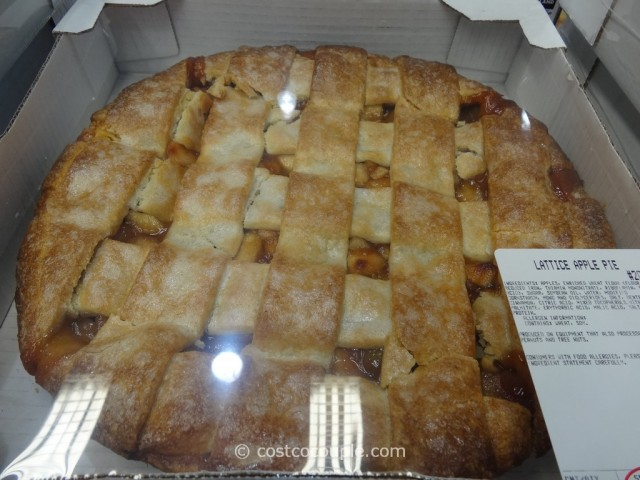 Kirkland Signature Lattice Apple Pie Costco 3