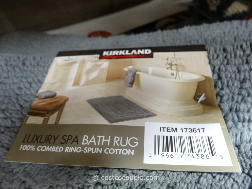 Kirkland Signature Reversible Cotton Bath Rug