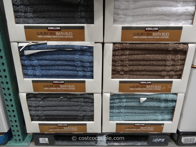 Kirkland Signature Reversible Cotton Bath Rug Costco 6